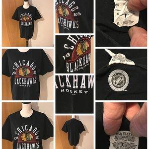 online retailer adbd8 c00dd CHICAGO BLACKHAWKS 1926 HOCKEY Black Adult XL NHL